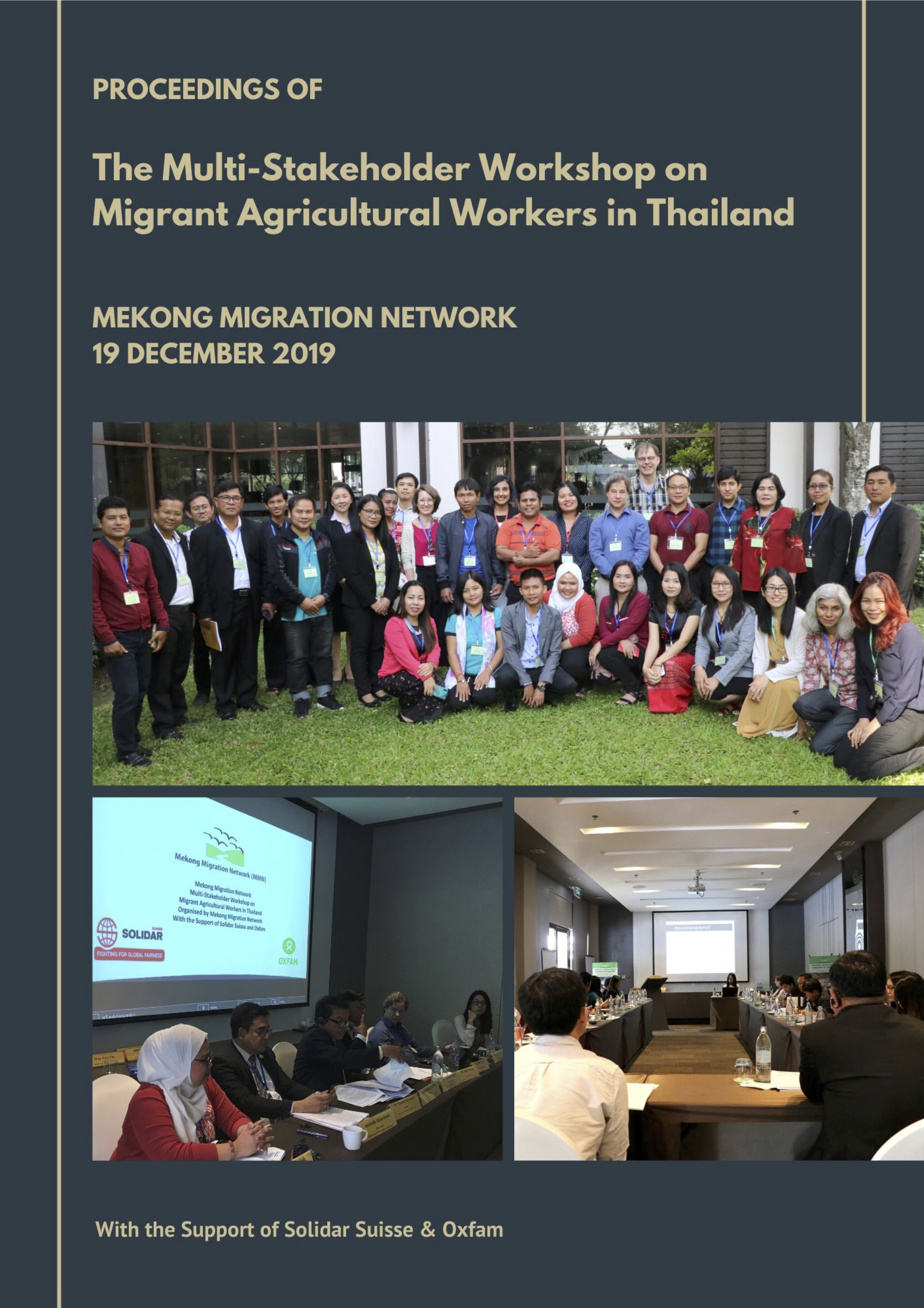 Proceedings of Migrant Agricultural Workers in Thailand (1)