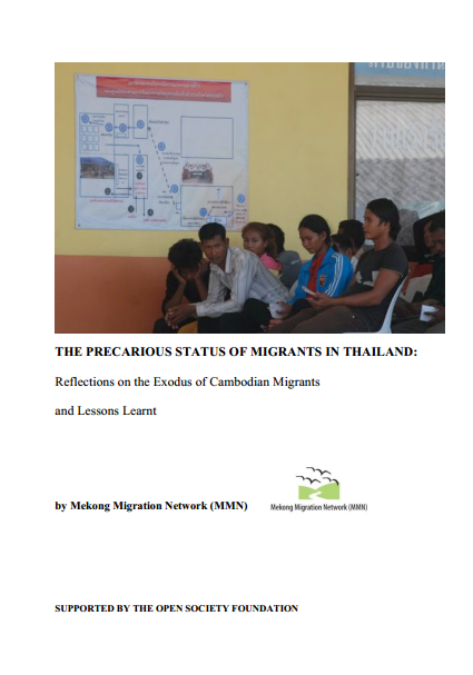 Precarious status of migrants in Thailand