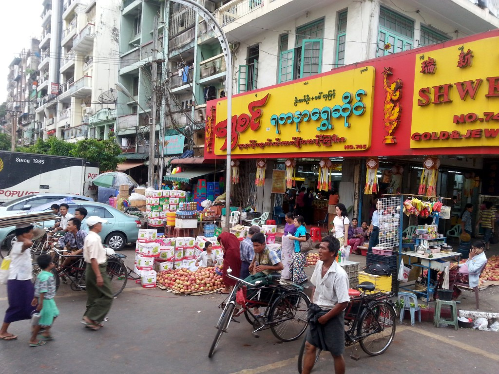 Anawartha Street, Yangon, Tineke Baird