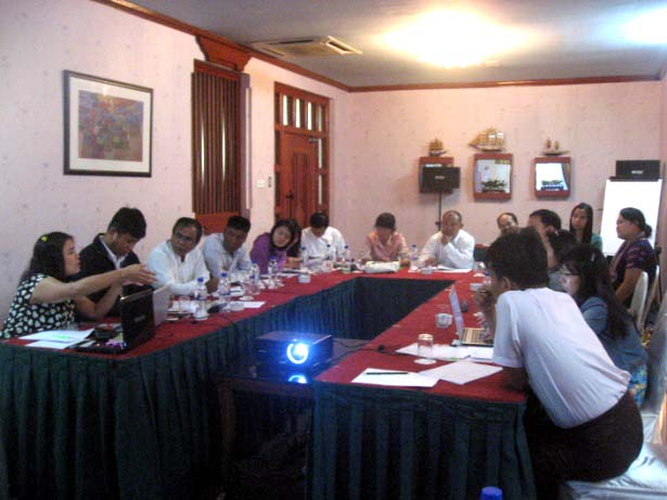 MMN CSOs Meeting in Yangon (2013)