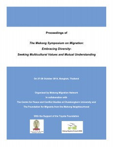 Final draft - Proceedings of the Mekong Symposium on Migration.doc-revised-23 Dec 2014-LAYOUT Cover