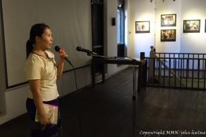 Daw Thiri sharing her experience migrating to Japan under the Technical Intern Training Program.