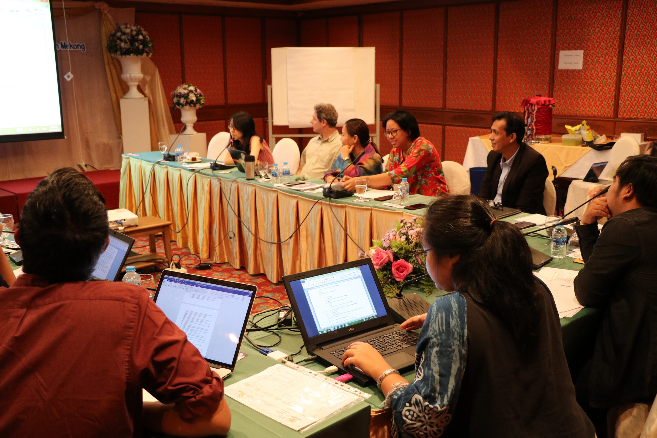Second project partners consultation meeting, August 2018, Chiang Mai, Thailand
