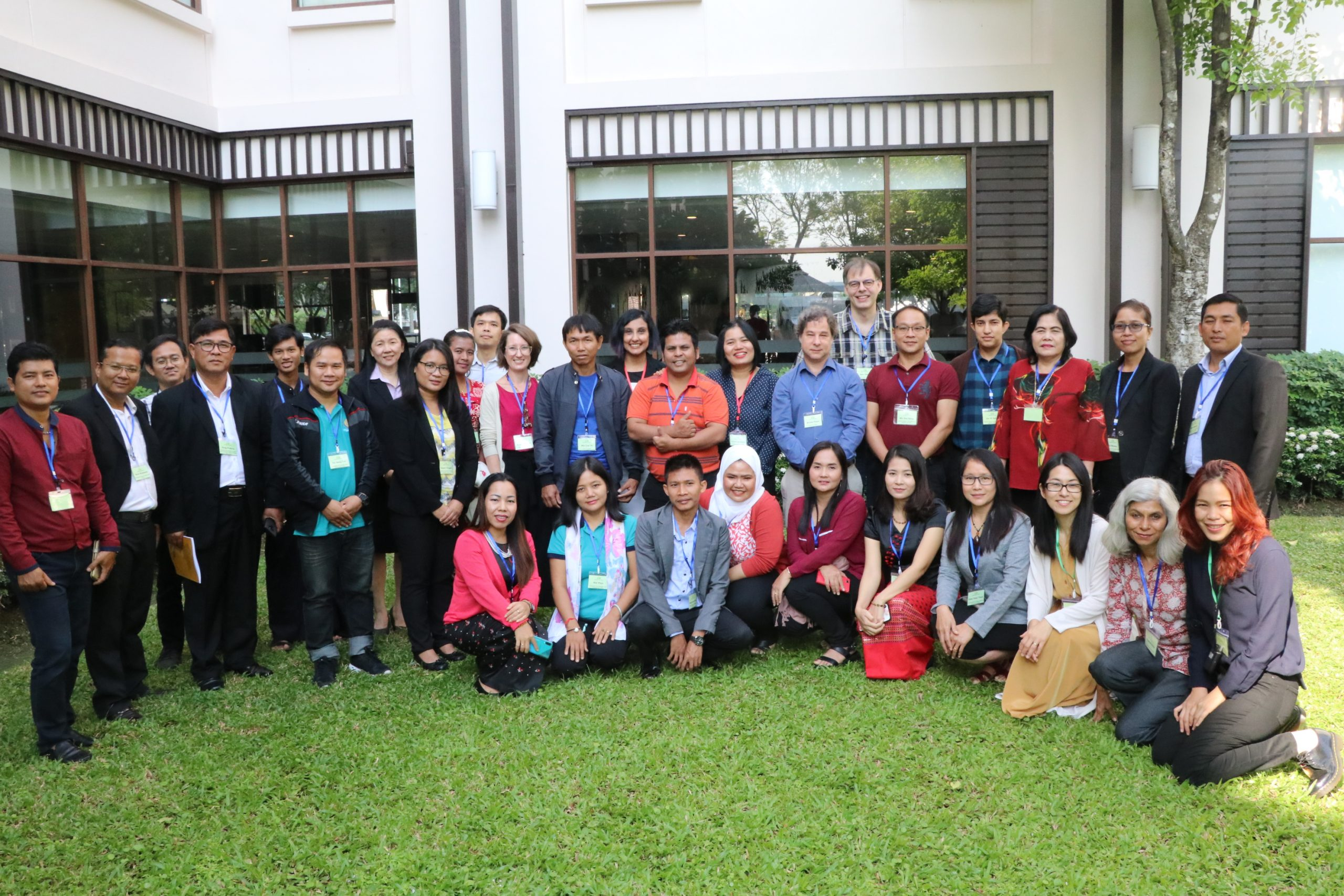Group photo at the MMN Multi-Stakeholder Workshop on Migrant Agricultural Workers in Thailand, December 2019, Bangkok, Thailand