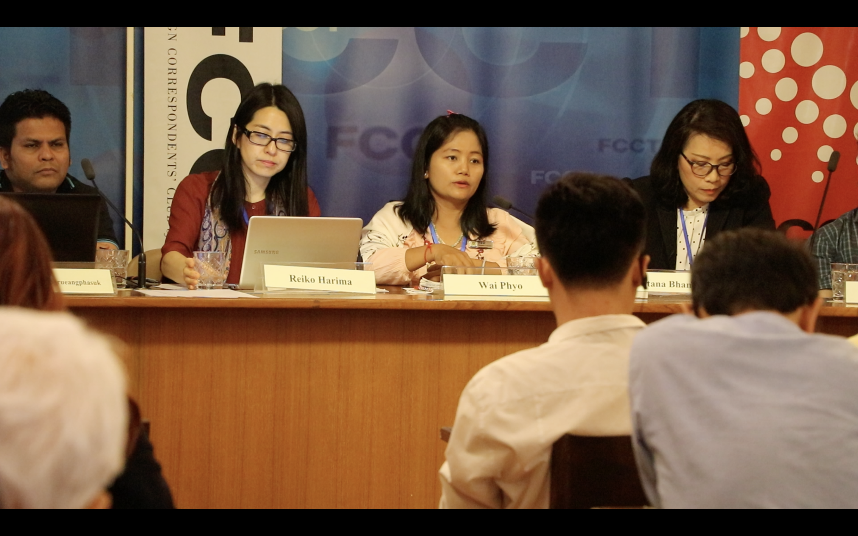 "MMN project partner speaks at a panel at the launch of the report ""Migrant Agricultural Workers in Thailand"", January 2020, Bangkok, Thailand"